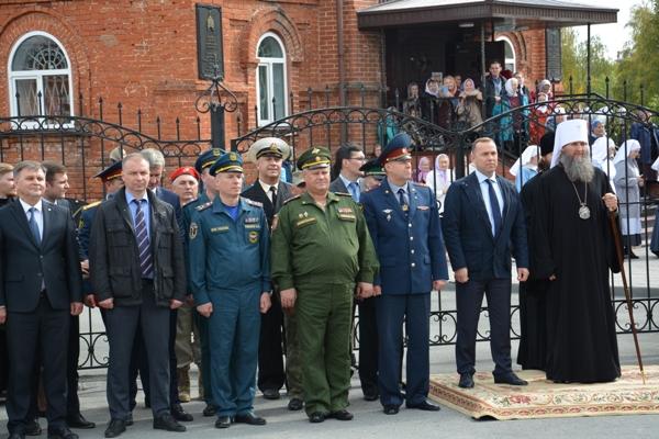 Участники мероприятия, посвященного памяти святого благоверного великого князя Александра Невского