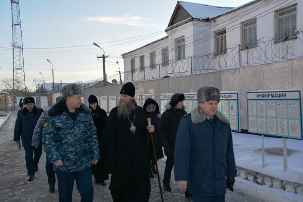 Визит митрополита Даниила в ИК-6 УФСИН России по Курганской области.